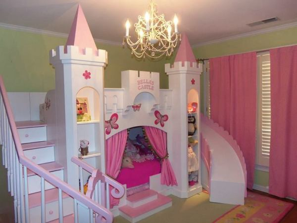 little girl princess bedroom ideas Little Bits and Pieces Bedrooms For Kids | The Owner-Builder Network