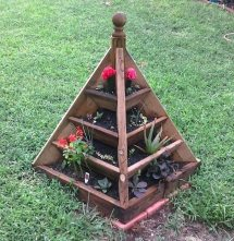Make Strawberry Pyramid Planter Owner