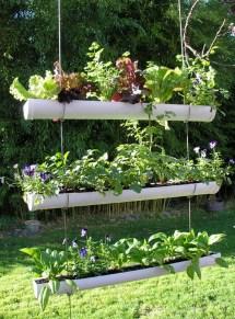 Diy Hanging Gutter Garden Owner-builder Network