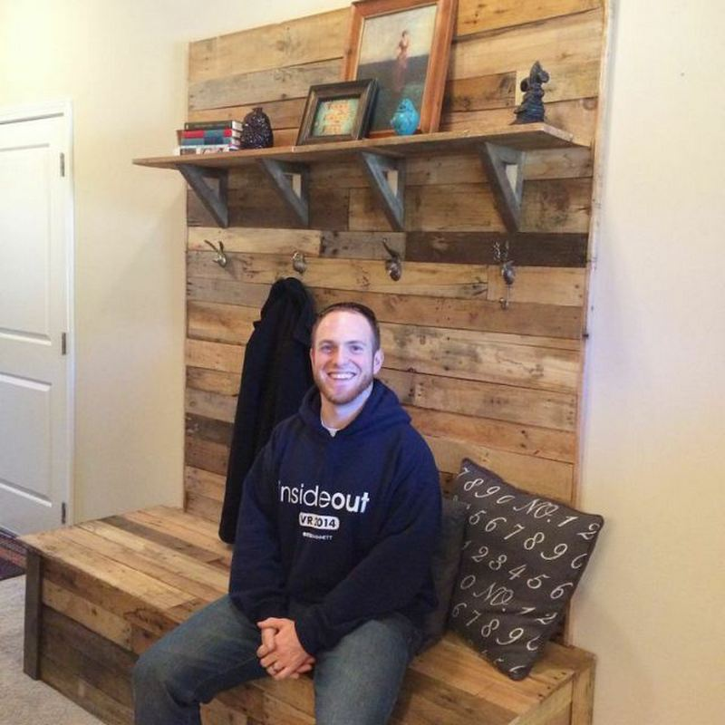 Pallet Entryway Bench  The OwnerBuilder Network