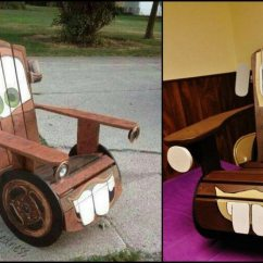 How To Build An Adirondack Chair Design Famous A Diy For Kids With Tow Mater The Truck