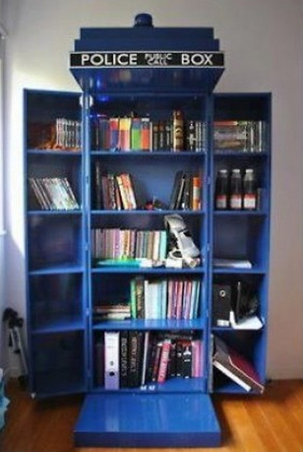 How To Build Your Own Tardis Bookshelf  The Ownerbuilder