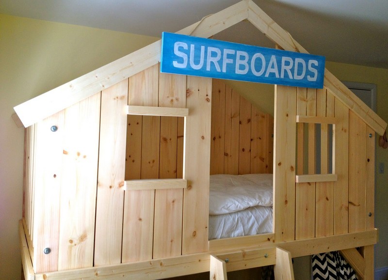 DIY Clubhouse Bed  The OwnerBuilder Network