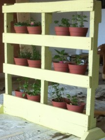 Pallet Vertical Herb Garden Owner-builder Network