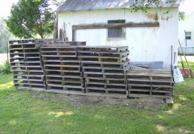 Pallet Shed Instructions