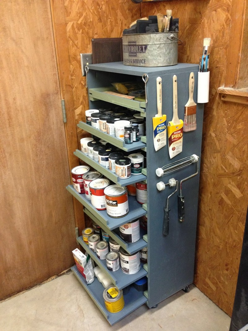 DIY Paint Storage Cabinet  The OwnerBuilder Network