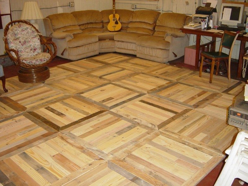 DIY Pallet Flooring  The OwnerBuilder Network