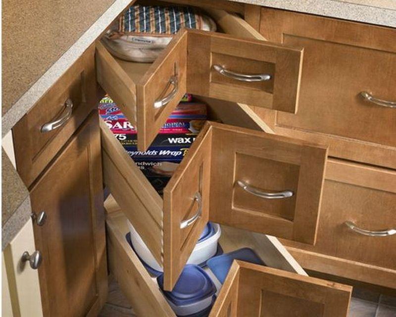 DIY Corner Cabinet Drawers  The OwnerBuilder Network