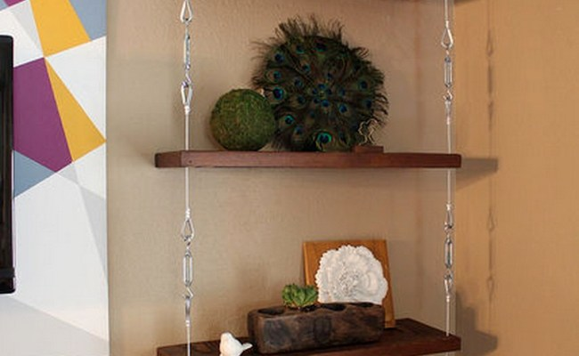 How To Build A Space Saving Hanging Shelf The Owner