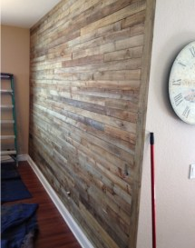 Pallet Wall Project Owner-builder Network