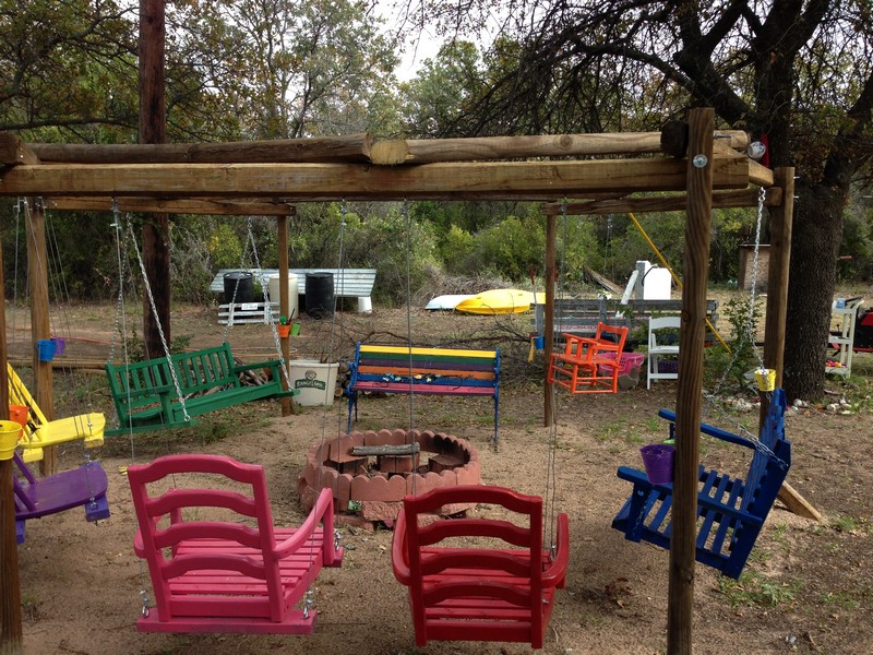 Fire Pit Swing Sets  The OwnerBuilder Network