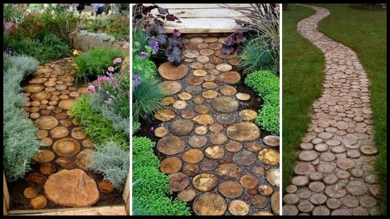 Upcycled Tree Stump And Log Ideas