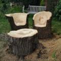 Outdoor tree stump ideas myideasbedroom com