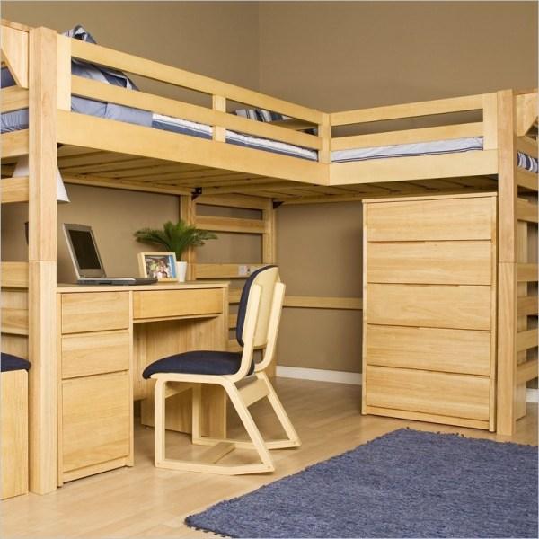 Loft Beds With Desks Owner-builder Network