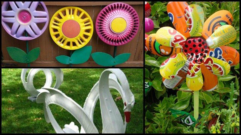 Awesome DIY Garden Art Ideas