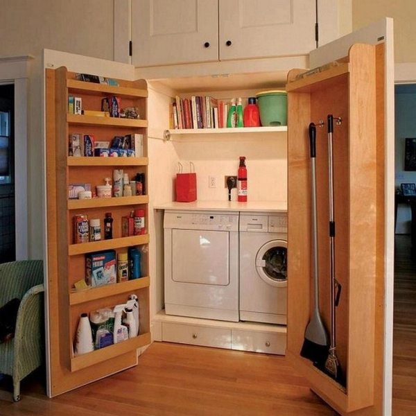 Idea Laundry Room Door