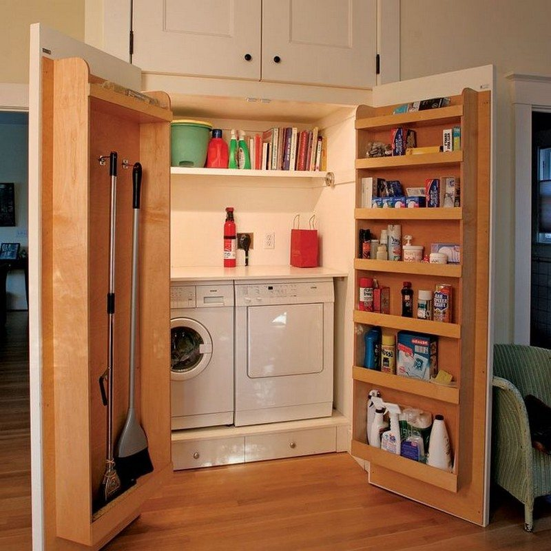 Super Clever Laundry Room Storage Solutions  The OwnerBuilder Network