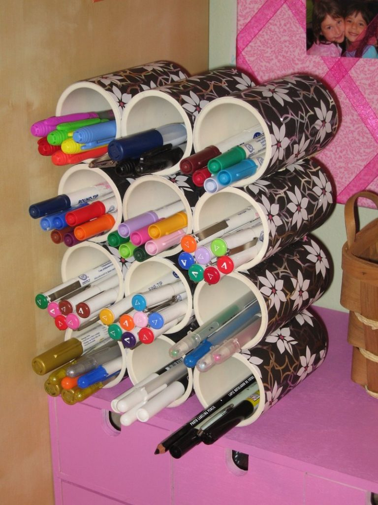 Genius Tricks To Organize Your Home With Leftover Pvc