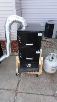 Turn that old filing cabinet into a smoker! | The Owner ...