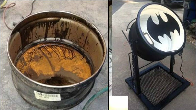 55 Gallon Metal Drum Project Ideas The Owner Builder Network