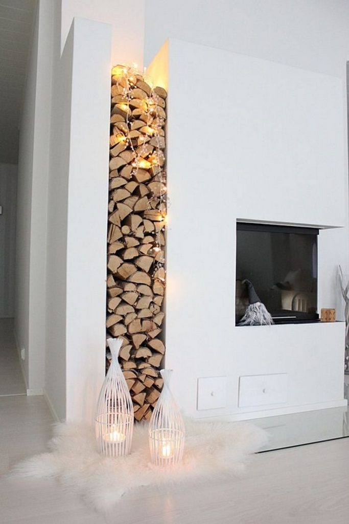 Where To Store Wood For Fireplace Firewood Storage Ideas | The Owner-builder Network