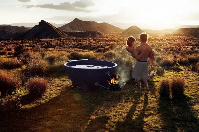 Fire Hot Tub  The OwnerBuilder Network