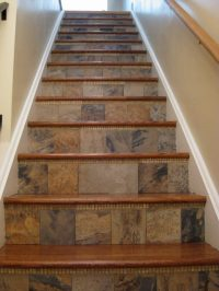 Amazing tiled staircases! | The Owner-Builder Network