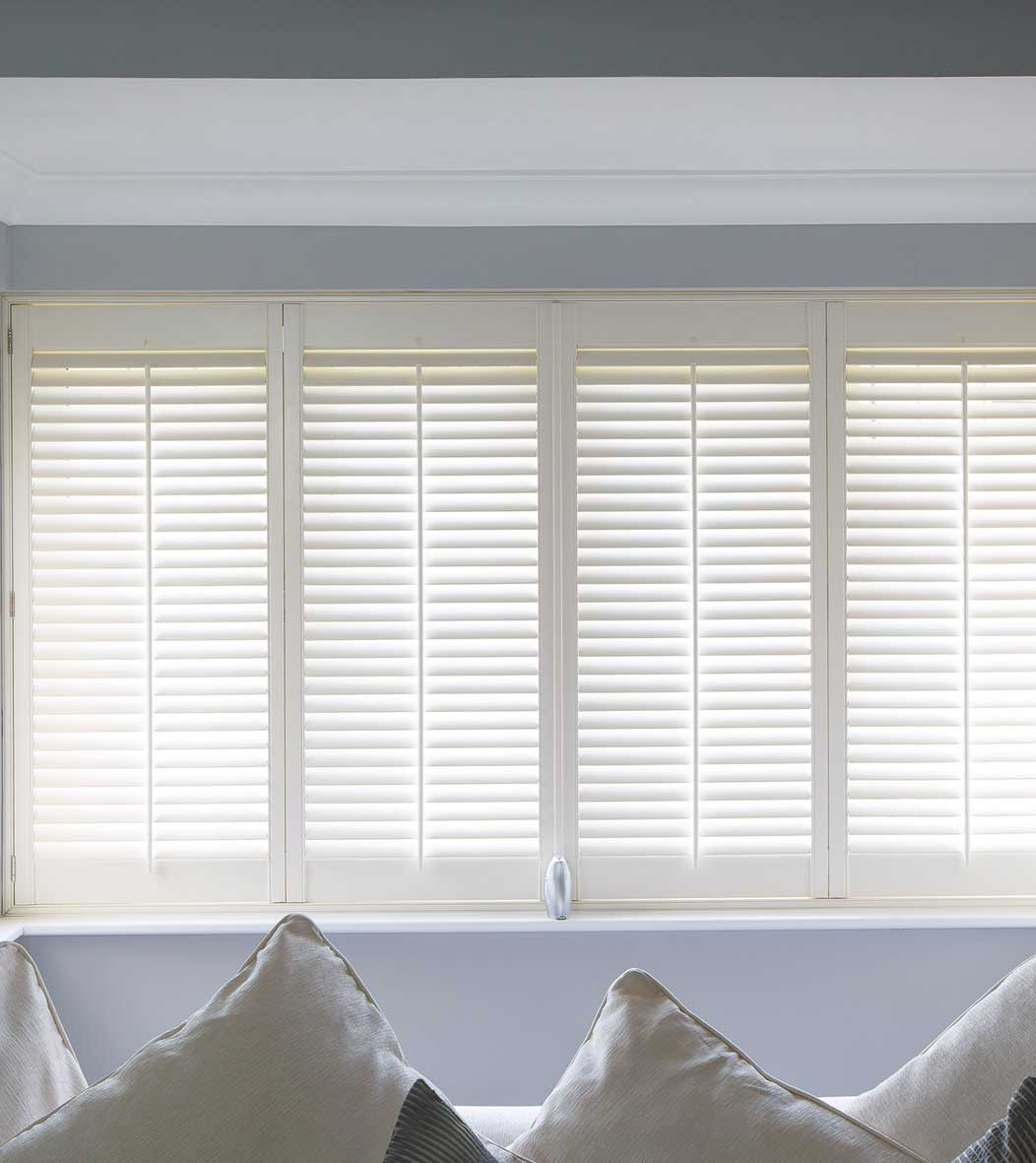 Shutters For Windows Installed By The Oxford Shutter Company