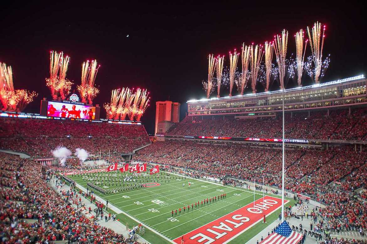 Ohio State Buckeyes Night Game