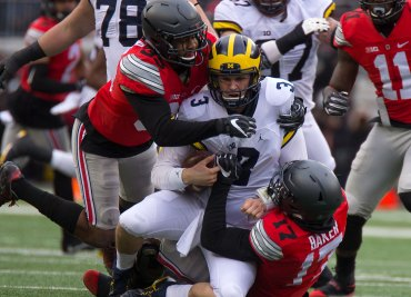 Ohio State Football Michigan Football Wilton Speight Jerome Baker Chris Worley Ohio State Buckeyes