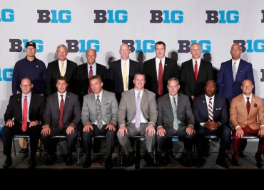 Big Ten Football Coaches Ohio State Football Urban Meyer