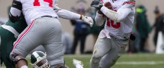 Buckeye Football Jamarco Jones J.T. Barrett vs Michigan State Ohio State Football