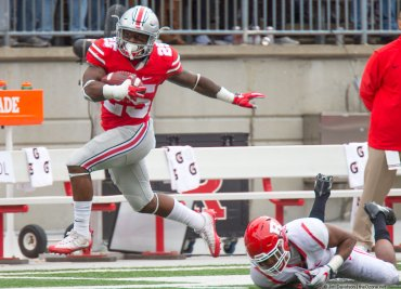 Mike Weber Rutgers Ohio State Football