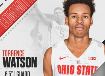 Torrence Watson Committed Ohio State Basketball