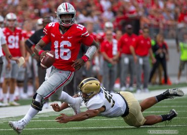 J.T. Barrett vs Army Ohio State