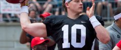 Ohio State Football Buckeyes quarterback Joe Burrow