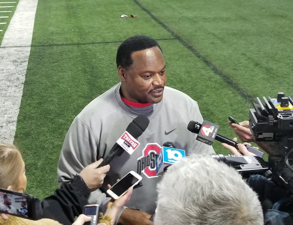 Larry Johnson Ohio State Football Buckeyes