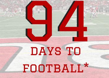 94 Days to Ohio State Football Buckeyes College Football