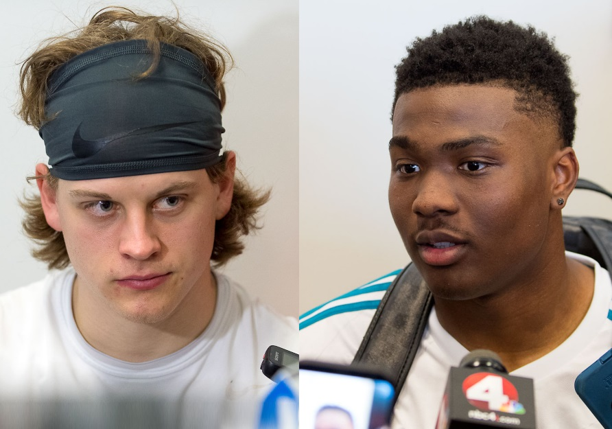 Joe Burrow, Dwayne Haskins Ohio State Football Buckeyes