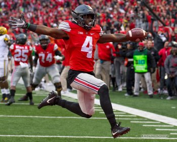 Ohio State Football Curtis Samuel 2016 Michigan Touchdown