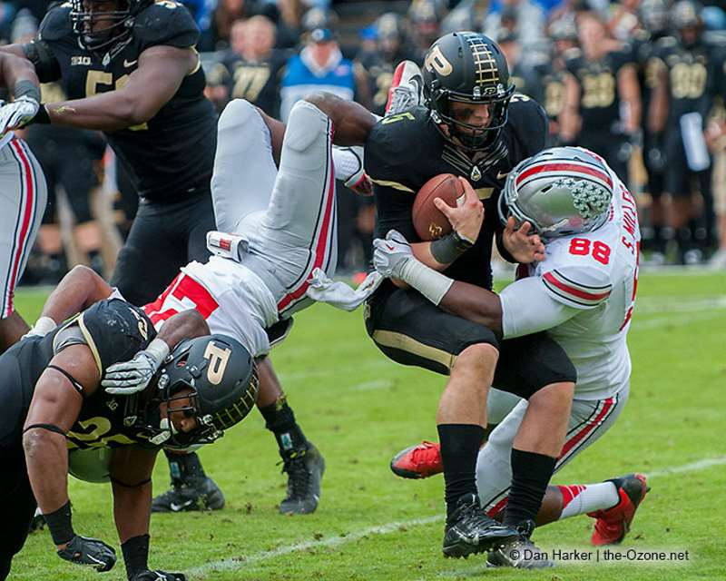 Purdue shocks second-ranked Ohio State, 49-20