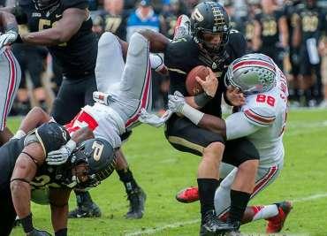 Purdue Ohio State Football Buckeyes