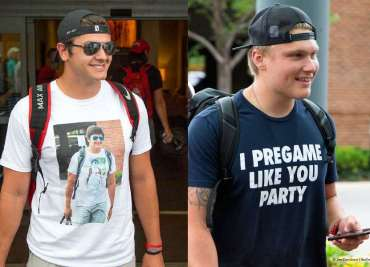 Ohio State Football Buckeyes Specialists Liam McCullough, Sean Nuernberger