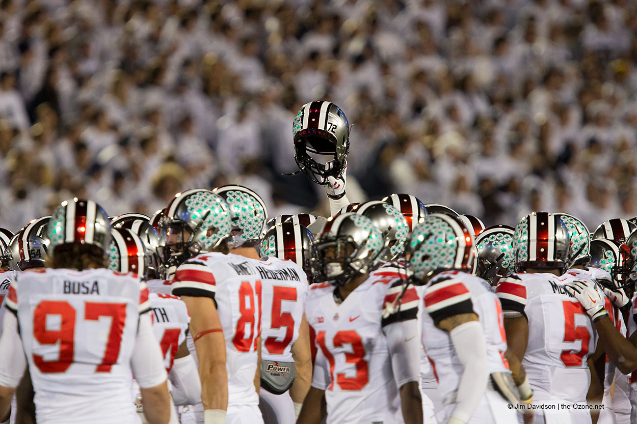 Mandel's Top 10: Ohio State and Penn State both move up