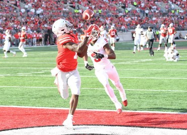 Ohio State football wide receiver Johnnie Dixon