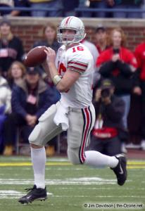 023 Craig Krenzel Ohio State Michigan 2003 The Game football