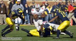 022 Antonio Pittman Ohio State Michigan 2005 The Game football