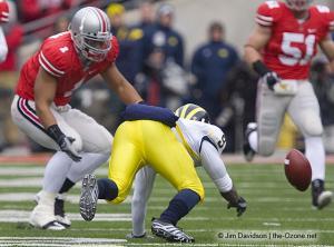 022 Marcus Freeman Ohio State Michigan 2008 The Game football