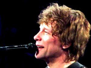 Bon Jovi closeup