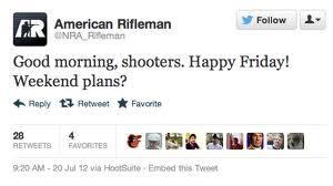 @NRA_Rifleman tweet